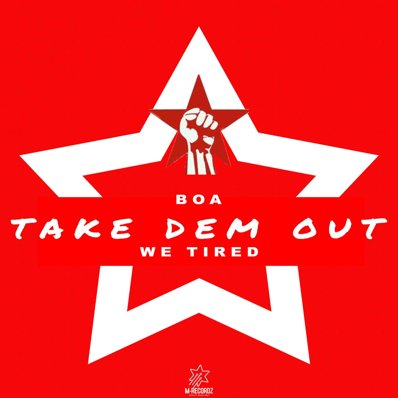 Boa - Take Dem Out (We Tired)