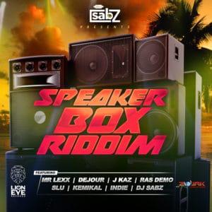 Speaker Box Riddim - Lion Eye Records