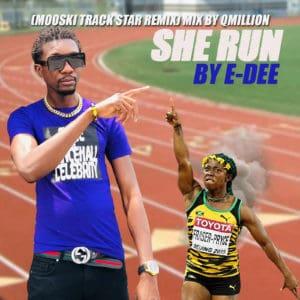 E-Dee - She Run - Track Star Dancehall Remix