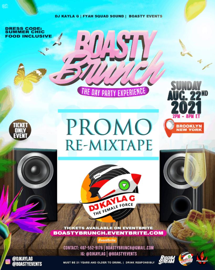 DJ Kayla G - BOASTY BRUNCH: THE DAY PARTY EXPERIENCE (PROMO REMIX TAPE)