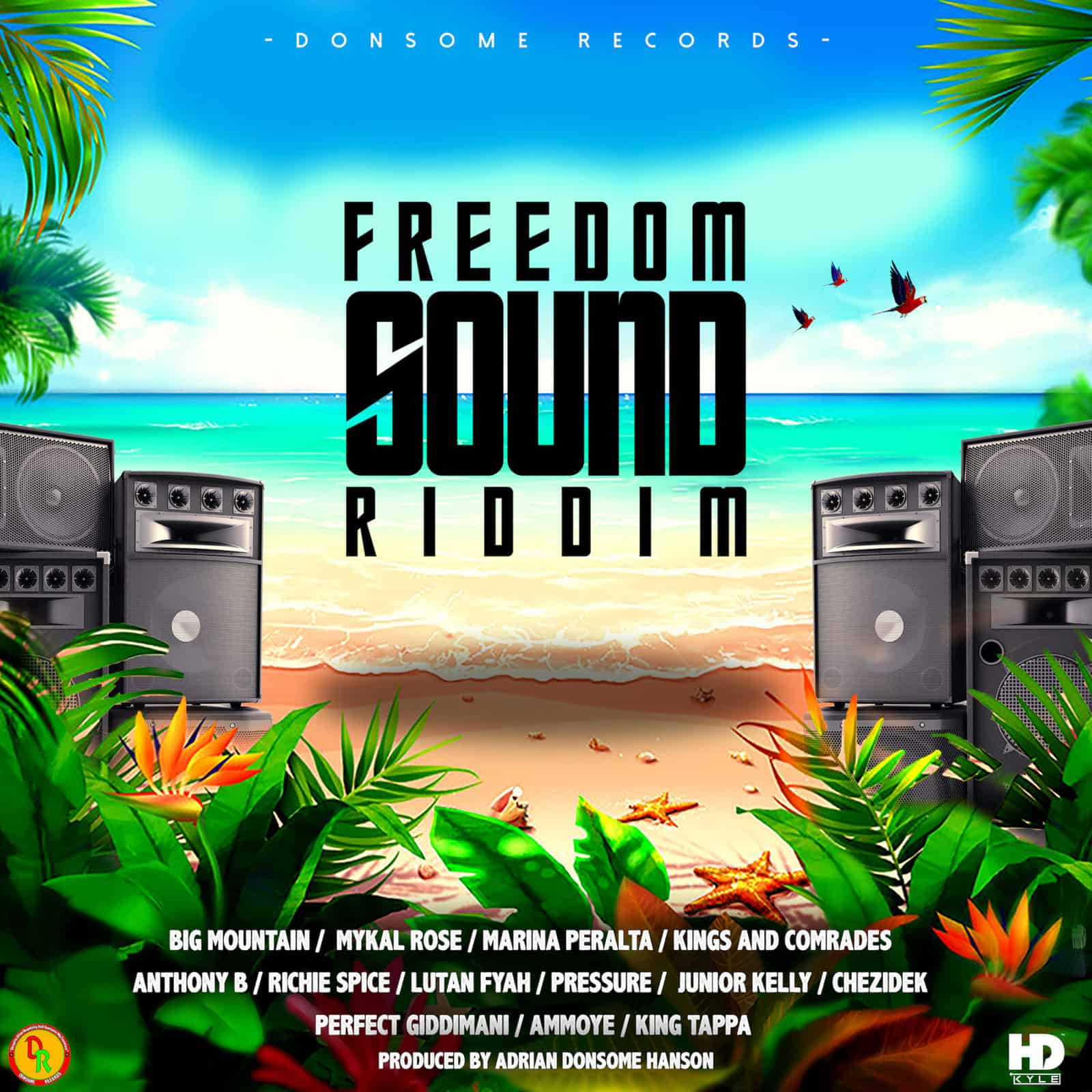 Freedom Sound Riddim by Donsome Records